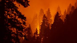 Fires Continue Scorching Western States