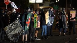 Portland Rioters Arrested After Attacking Sheriff's Office