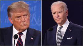 Trump, Biden Start 1st Presidential Debate With Question About SCOTUS Nomination