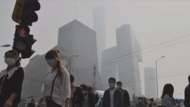 Air Pollution in Beijing Exceeds Limit by 3 Times