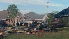 2 Killed After US Navy Plane Crashes Into Alabama Neighborhood