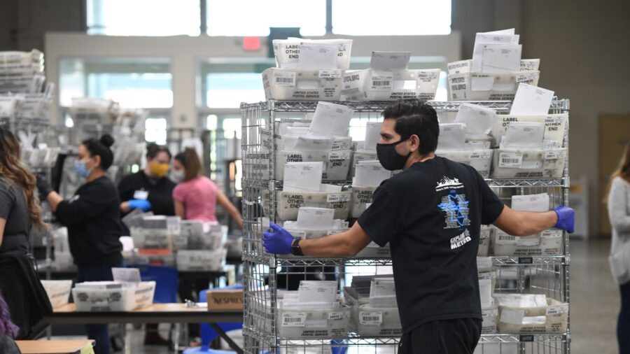 Footage Showing Men Collecting Ballots After Election Day Is Not Evidence of Fraud: LA Clerk