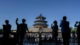 Chinese Holiday, Popular Tourist Spots See Surge