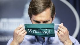 Kentucky Governor and Family Go Into Isolation