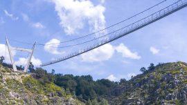 World's Longest Pedestrian Suspension Bridge to Open in Portugal