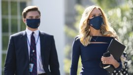 White House Press Secretary Kayleigh McEnany Tests Positive for COVID-19