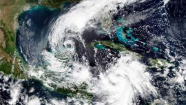 Hurricane Delta Now Category 2, Roars at Mexico's Yucatan