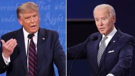 Trump and Biden Address Issue of Election Integrity | First Presidential Debate