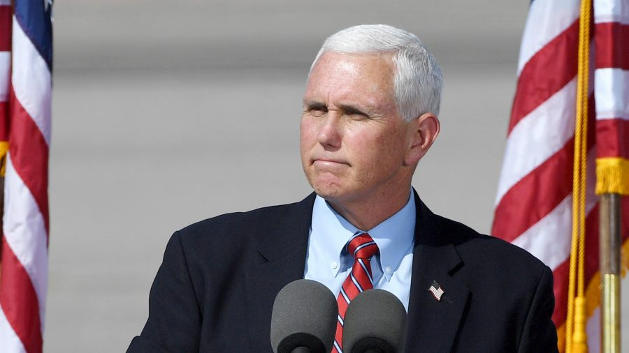 Mike Pence Breaks Silence, Says Democrats' Election Bills Are 'Unconstitutional Power Grab'