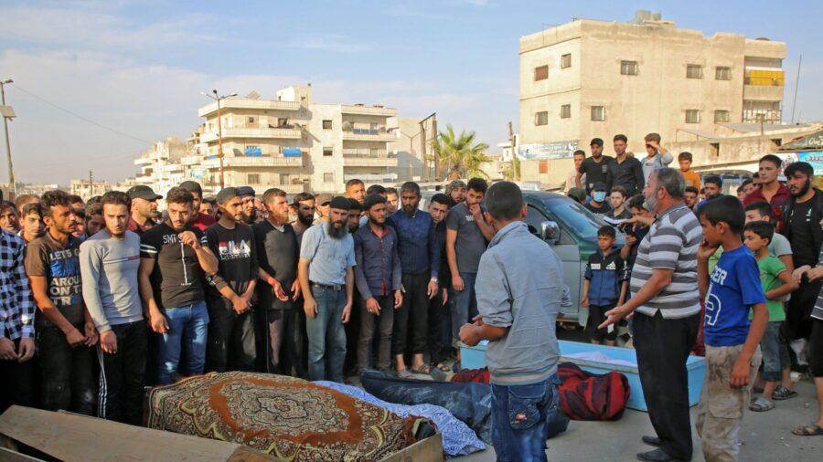 Airstrike in Northwestern Syria Kills Over 50 Rebel Extremists