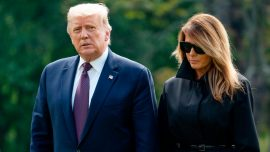 World Leaders Wish Trump, First Lady Well After COVID-19 Diagnosis