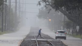 Hurricane Delta Weakens After Churning Into Storm-Battered Louisiana