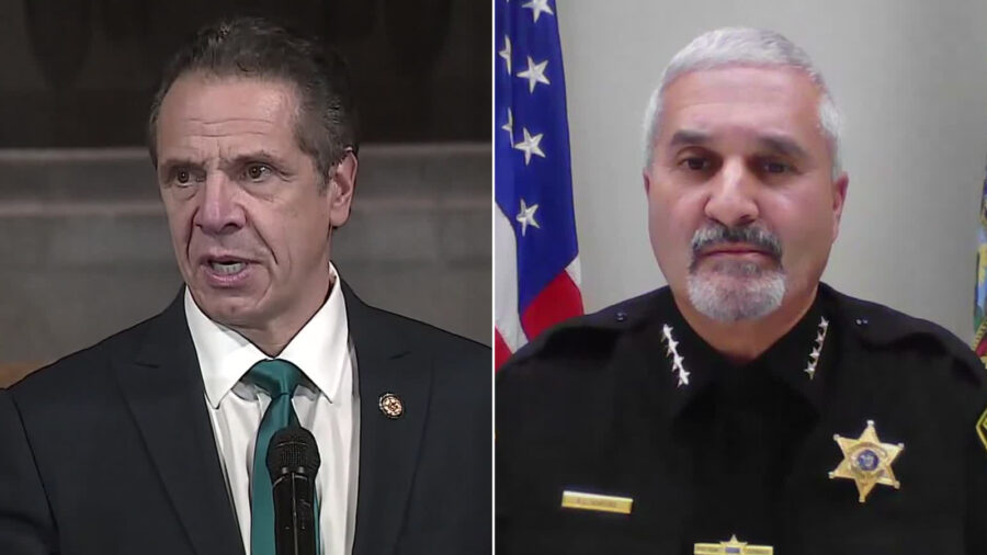 Several Sheriffs in Upstate New York Say They Will Ignore Gov. Cuomo's Order to Limit Thanksgiving Guests