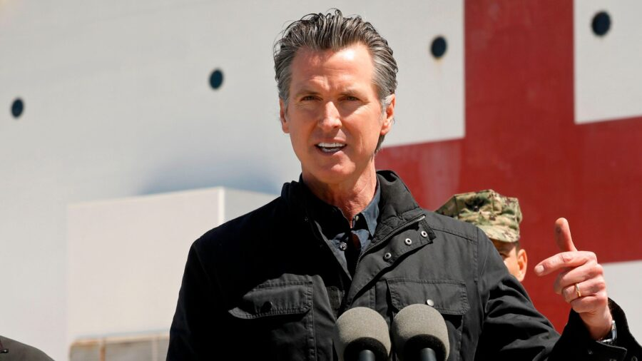 California Governor Imposes New Restrictions in Pandemic