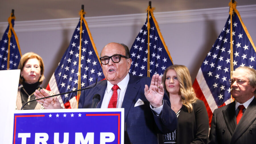Giuliani: Attorney Sidney Powell 'Does Not Speak for the President'