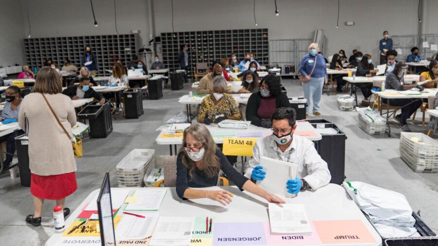 Georgia Monitor Catches 9,626-Vote Error in Hand Recount