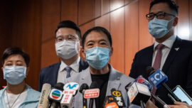 HK Pro-Democracy Camp Stages Final Protest