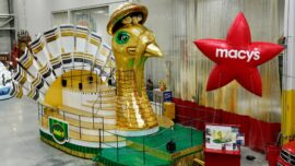 Macy's Unveils New Floats for New York City Thanksgiving Day Parade