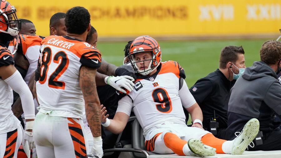 'See Ya Next Year,' Tweets Cincinnati Bengals' Joe Burrow After Suffering Knee Injury
