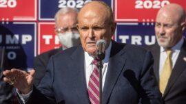 Federal Investigators Search Rudy Giuliani's Apartment, Seize Laptops: Lawyer