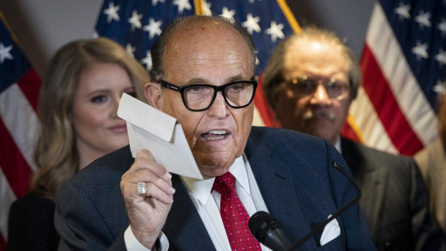 Trump Campaign to File 'Major Lawsuit' in Georgia – Rudy Giuliani