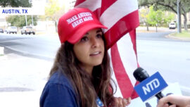 Trump Supporters at Texas Rally: 'America Should Be a Place for Truth'