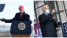Trump, Biden Rallies in Final Days