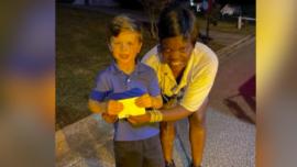 Mail Carrier Surprises Birthday Boy
