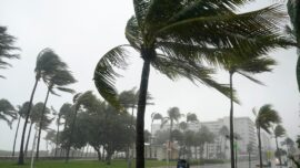 Eta Strikes Florida Keys; Expected to Become Hurricane