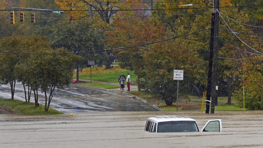Flash Floods Ravage North Carolina; 8 Dead, Toddler Still Missing