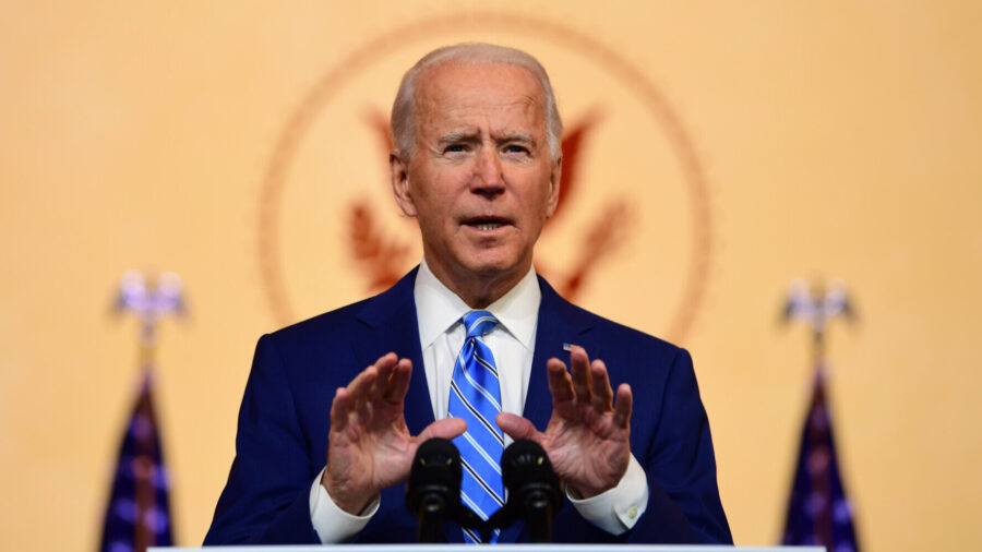 Biden Says He's Grateful for Frontline Workers, Scientists on Thanksgiving