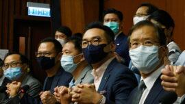 Hong Kong Pro-Democracy Legislators Threaten Mass Resignations