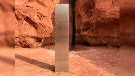 Mysterious Shiny Monolith Found in Otherworldly Utah Desert
