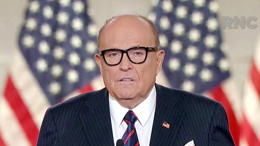 Rudy Giuliani Says Pennsylvania Senate Has 'Responsibility' to Send Their Own Electors