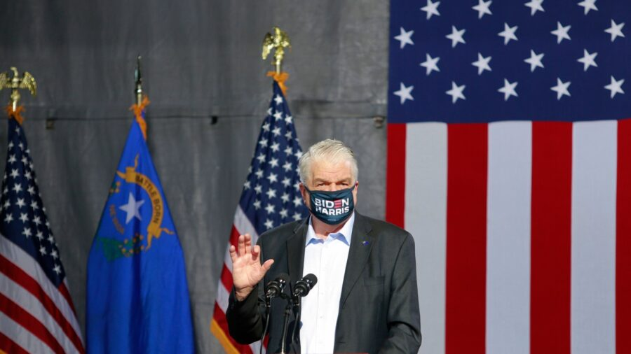 Nevada Governor Announces New CCP Virus Restrictions for 3 Weeks as Cases Surge
