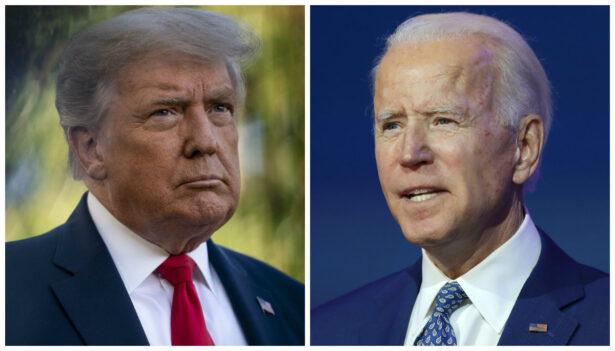 Trump and Biden