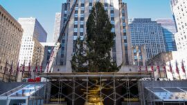 Rockefeller Center Christmas Tree Turns On, With Virus Rules
