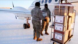 Alaska National Guard Helps Santa
