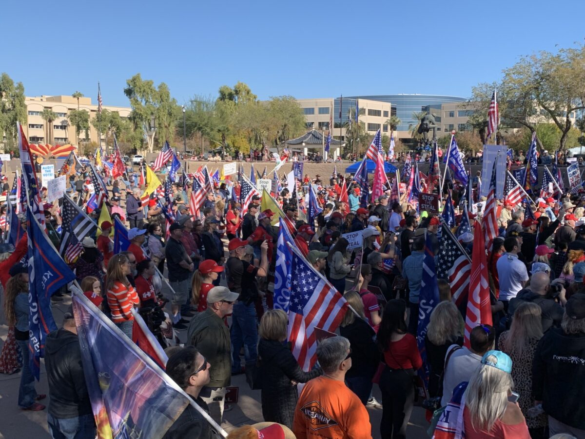 Arizona Stop the Steal rally