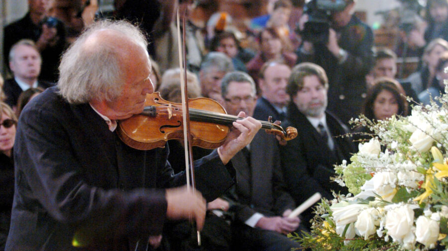 Ivry Gitlis, a Violinist Who Spanned Genres, Dies at 98