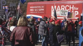 'March for Trump' Bus Stops in Pittsburgh