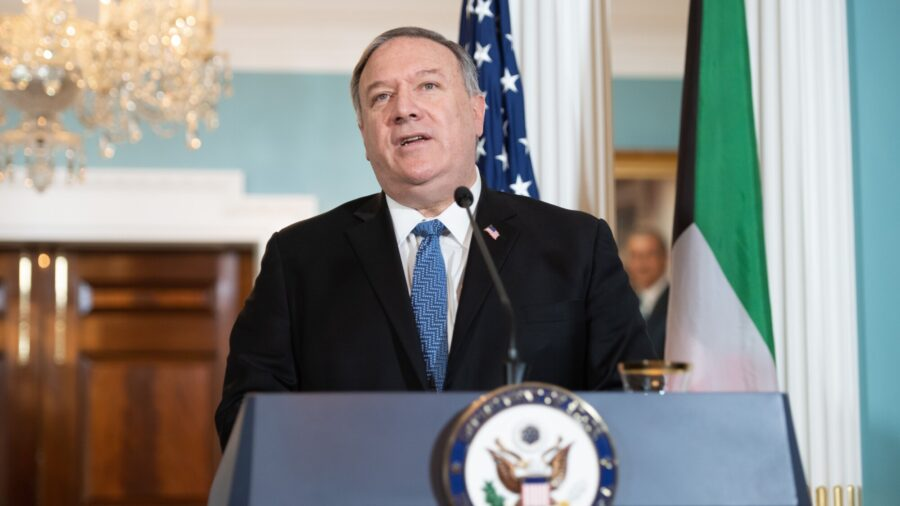 Pompeo to Designate Yemen's Houthi Rebels as Terrorist Group