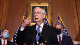 Mcconnell, White House in Talks for New Relief Bill