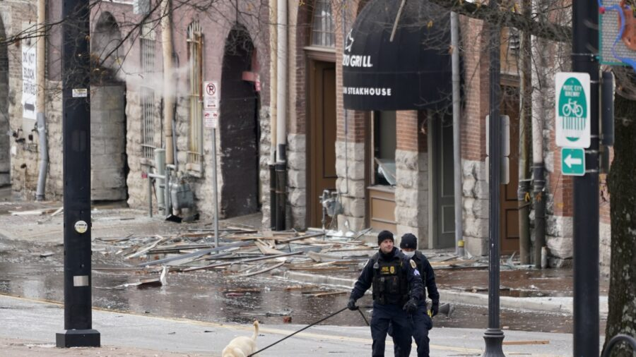 Police: Suspicious Blast Wounds 3 in Nashville on Christmas