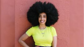 Brooklyn Fashion Designer Breaks Guinness World Record for Largest Afro