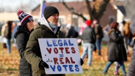 Voters Rally Outside Michigan Election Hearing