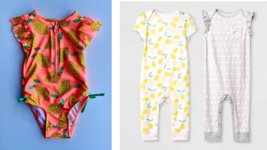 Target Recalls 480,000 Pieces of Infant, Toddler Clothes Over Potential Choking Hazards