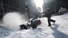New York City Cleans Up After Storm, Dining Goes On