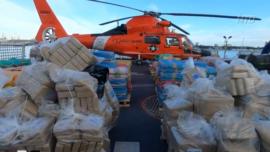 Coast Guard Seizes Over $400 Million of Drugs