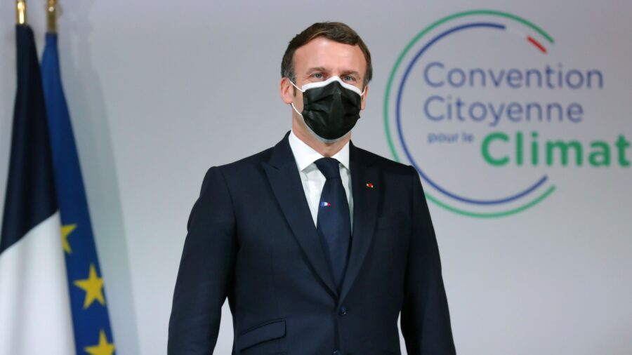 France's Macron Tests Positive for COVID-19